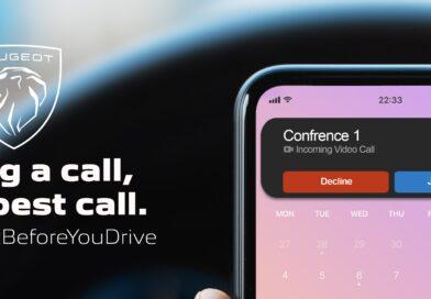PEUGEOT lance la campagne «Déconnectez avant de conduire» dans le cadre de la campagne de sécurité routière
